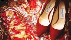 喜庆 你的购物车中,是不是也有一件红色婚品?