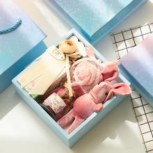 ins风 伴娘伴手礼结婚回礼创意礼物盒喜糖礼盒成品含糖婚礼小