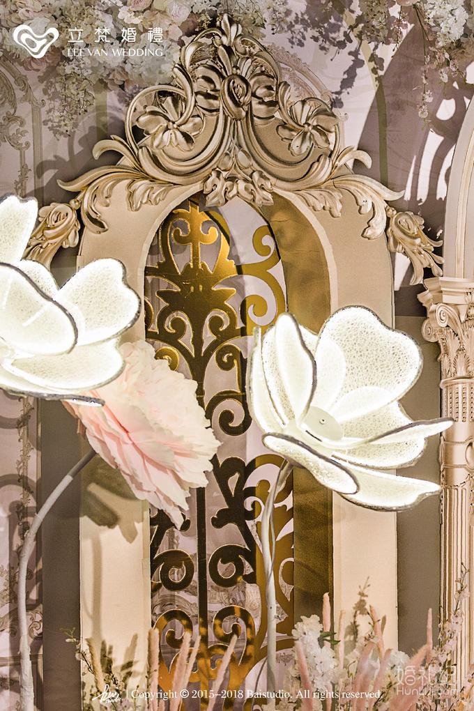 【立梵婚礼】香槟色系复古宫廷风