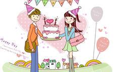 给女朋友生日祝福语