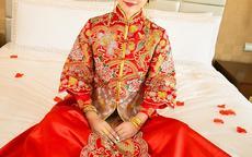 结婚穿的红色礼服推荐