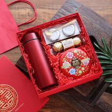 中国风婚礼红色喜糖礼盒成品含糖 中式生日结婚回礼伴手礼小礼物