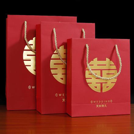 中式喜糖回礼袋