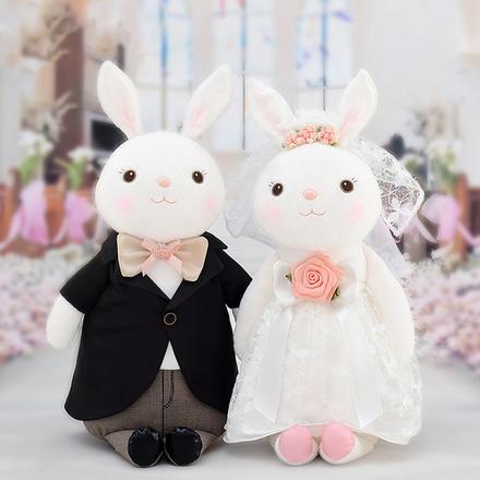 【一对】西式情侣婚纱兔