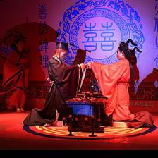 这么惊艳的中式婚礼,我不信你不喜欢!