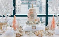 婚礼甜品台水果蛋糕图片大全