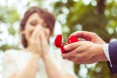 女生被求婚成功,戒指应该带哪个手?