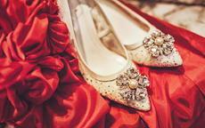 结婚新娘穿什么颜色的鞋子有什么讲究