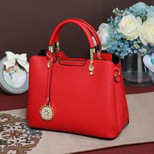 【鹦鹉恋歌】结婚包包新娘包时尚大红色手提包大容量子母包斜挎包