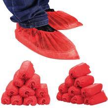 【包邮】婚庆用品批发结婚红色一次性无纺布鞋套