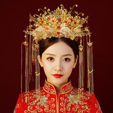 延禧攻略发饰古装剧演出皇后帽子头饰新娘中式头饰结婚秀禾服发饰