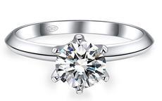 六爪钻戒的寓意 六爪配多大钻石好看