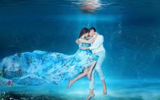 不会游泳可以拍水下婚纱照吗