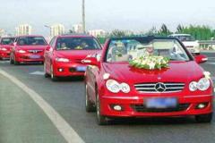 婚礼车队都用什么车