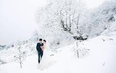 冬季拍婚纱照攻略