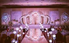 婚礼舞台布置效果图