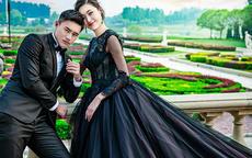 黑婚纱在中国代表什么 婚纱还有什么其他颜色
