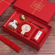 创意喜糖盒子含糖结婚回礼小礼品浪漫伴娘伴手礼 中式红色糖果盒