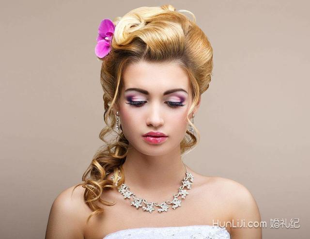 2018流行新娘发型图片图片
