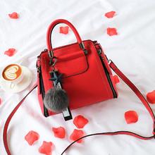 婚礼包包2018新款潮韩版红色结婚包包新娘包时尚手提包斜挎包