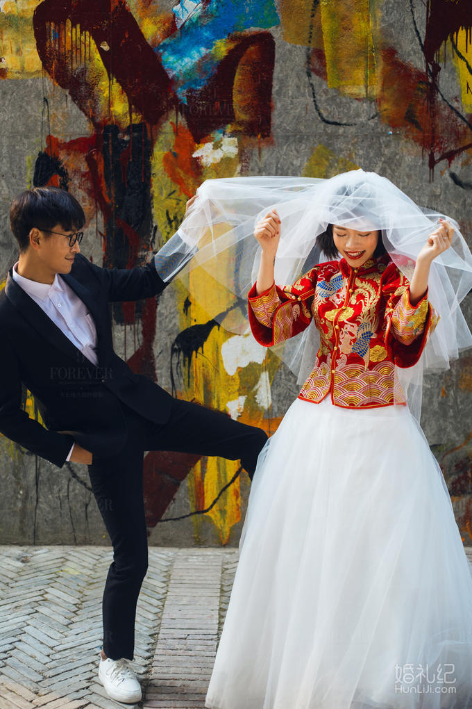 【热卖套系】边玩边拍婚纱照❤个性街拍网红地点打卡