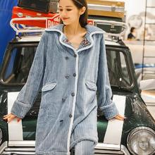 8609情侣新款睡衣女秋冬珊瑚绒套装家居服大码薄绒甜美可