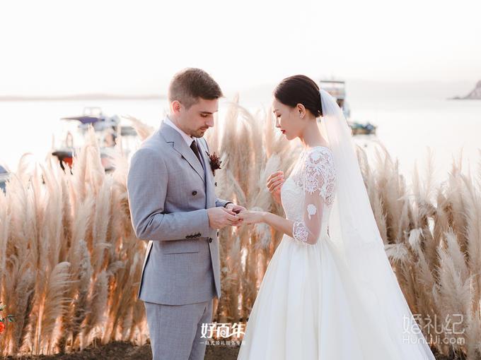 【絮】户外小清新芦苇主题婚礼—好百年婚礼中心