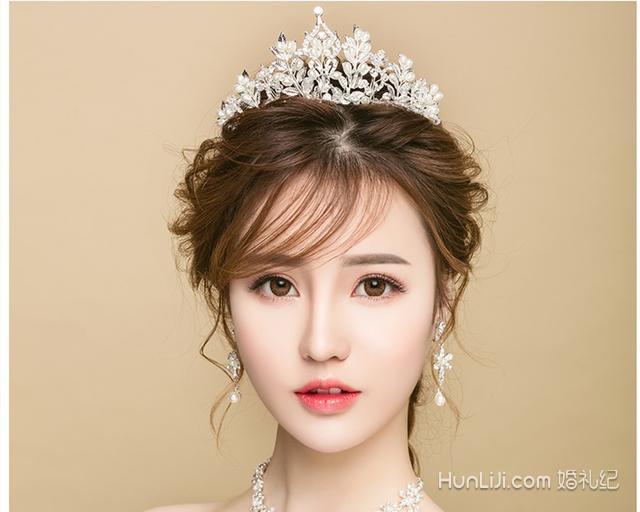 皇冠发型新娘发型盘点