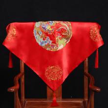 红盖头 新娘 中式刺绣 结婚用品红色头帕巾婚庆头纱婚礼凤凰