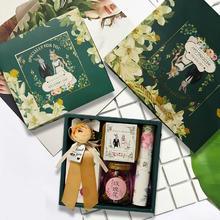 达令兔系列森系结婚喜糖盒伴手礼