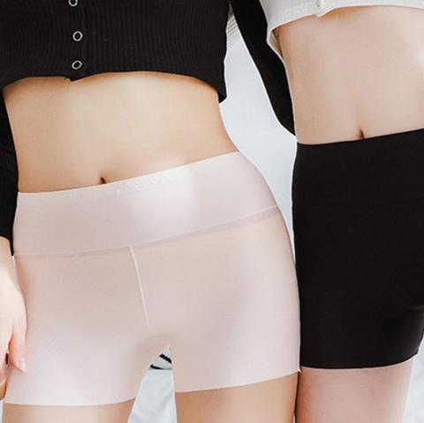 《3条装》 一片式高腰收腹内裤无痕打底裤加大安全裤女314