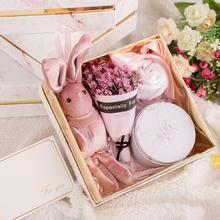 INS大理石伴手礼盒欧式婚礼喜糖盒子创意圣诞生日礼物结婚回礼