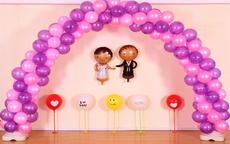 婚礼气球怎么吹 婚礼气球造型