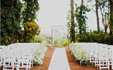 农村结婚门口布置图片 院子布置技巧