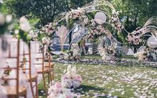 户外婚礼现场布置效果图