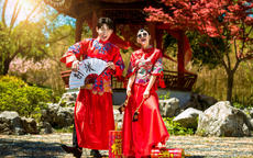中式婚纱摄影图片大全