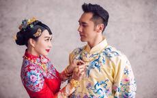 中式婚礼礼服图片