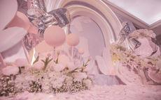 浪漫婚礼现场布置图片