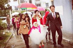 下雨天结婚有什么说法