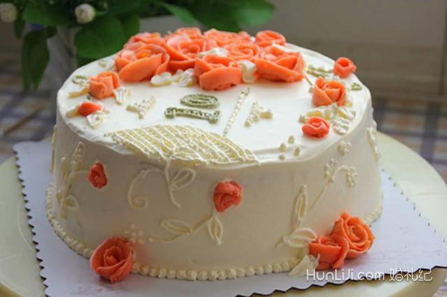 结婚10周年蛋糕图片大全