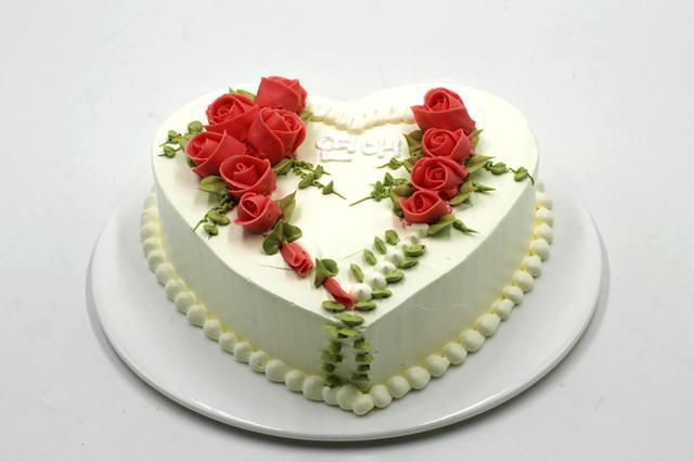 结婚纪念日蛋糕图片_结婚10周年蛋糕图片大全【婚礼纪】