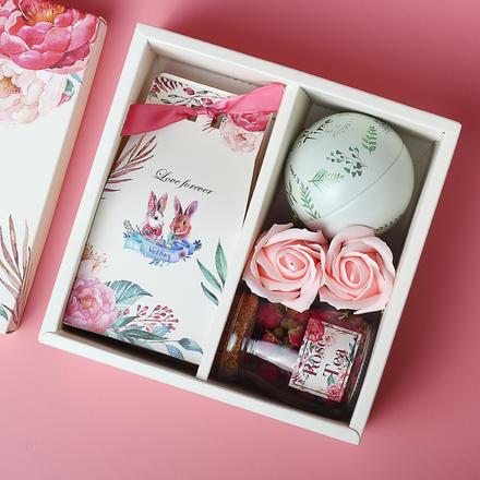 萌兔夫妇伴手礼盒