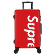 网红行李箱字母个性婚箱结婚行李箱蜜月旅行箱红色陪嫁箱