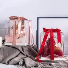 生日圣诞结婚创意透明礼盒成品女生闺蜜伴娘伴郎回礼物婚礼伴手礼