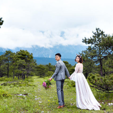 森系婚纱照拍摄攻略