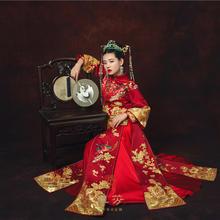 華芬嫁衣 秀禾服 彩凤鸾凤和鸣 中式嫁衣 李嘉格婚礼原版中式