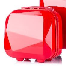 韩版正品化妆箱女旅行化妆品收纳包便携收纳箱14寸迷你结婚手提