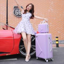韩版密码箱万向轮拉杆箱大红色行李箱结婚箱子陪嫁箱旅行箱包皮箱
