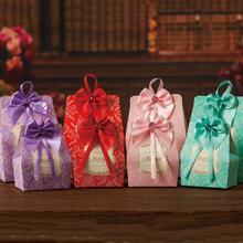 新款婚庆用喜糖盒子创意个性彩色糖果盒欧式婚礼