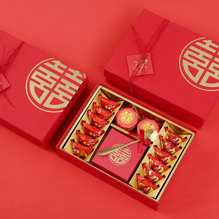 中式喜结良缘伴手礼盒